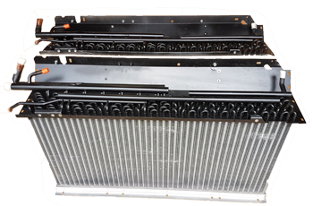 Replacement Coil and Radiator Combo for TK210 - PN 08-060086-04 -