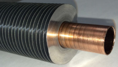 One of the more interesting examples from Custom Coils,  Spiral heat exchanger.